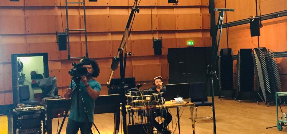 Arturo Fuentes Video recording Tonic at ZKM
