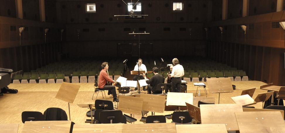 """Recording """"Linie mit Schraffur"""" ALEPH Gi"""