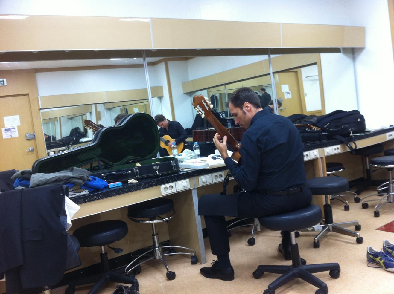 Ulju Arts Center Korea Backstage Christian Wernicke