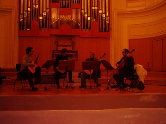 Ljubljana Philharmonie ALEPH Gitarrenquartett