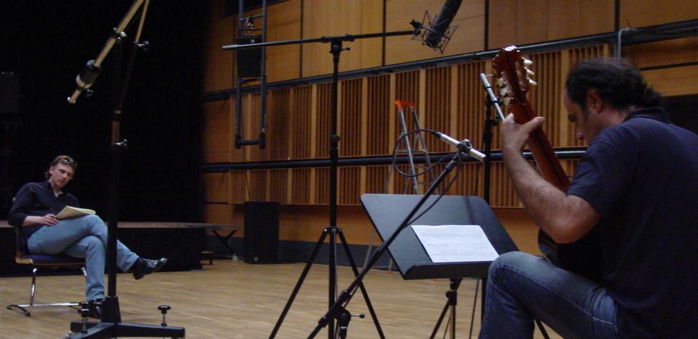 Markus Hechtle recording ZKM
