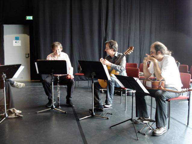 Ernesto Molinari&ALEPH Gitarrenquartett, Sommer in Stuttgart 2007