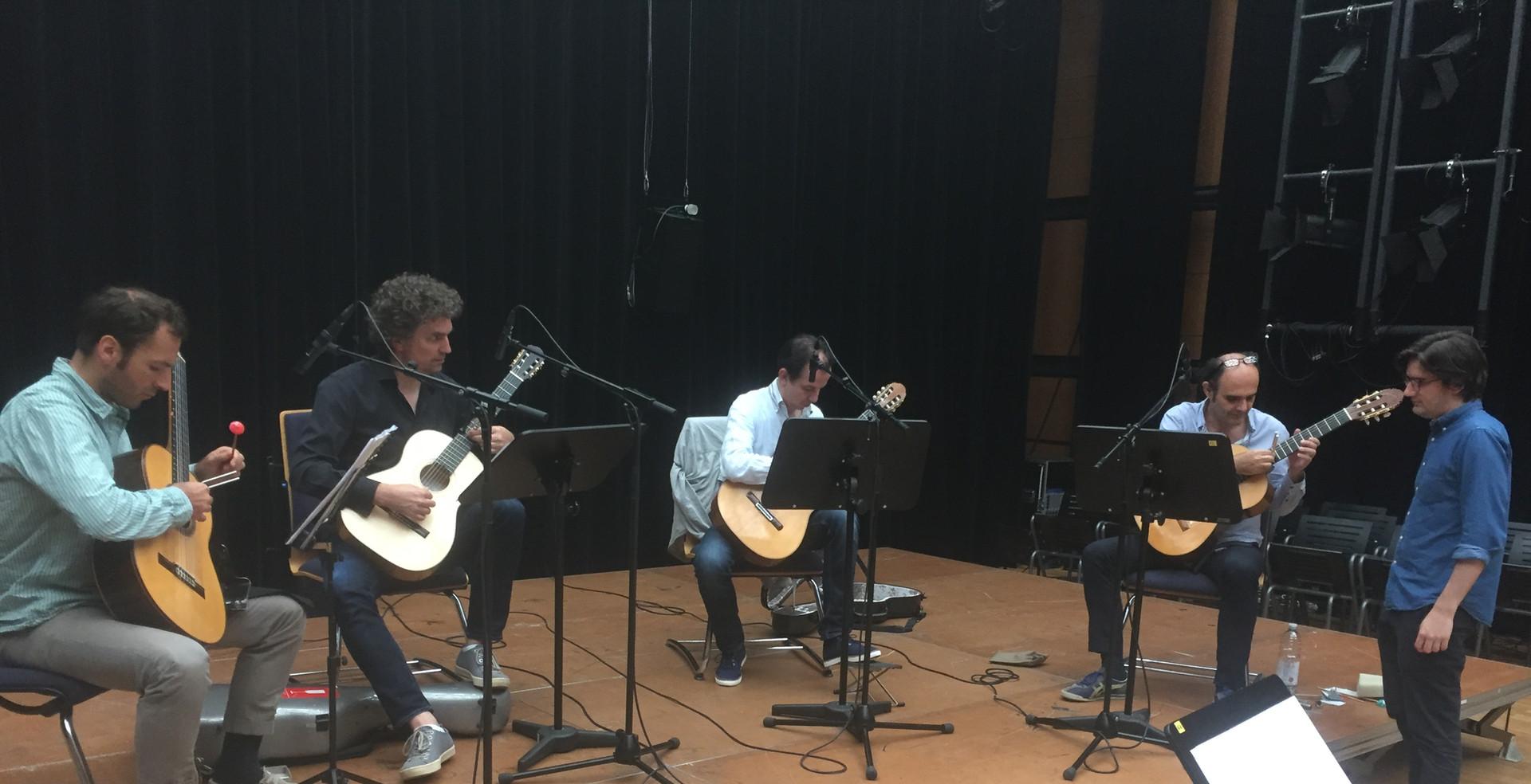 """Andrés  Nuño de Buen """"leve""""rehearsal"""