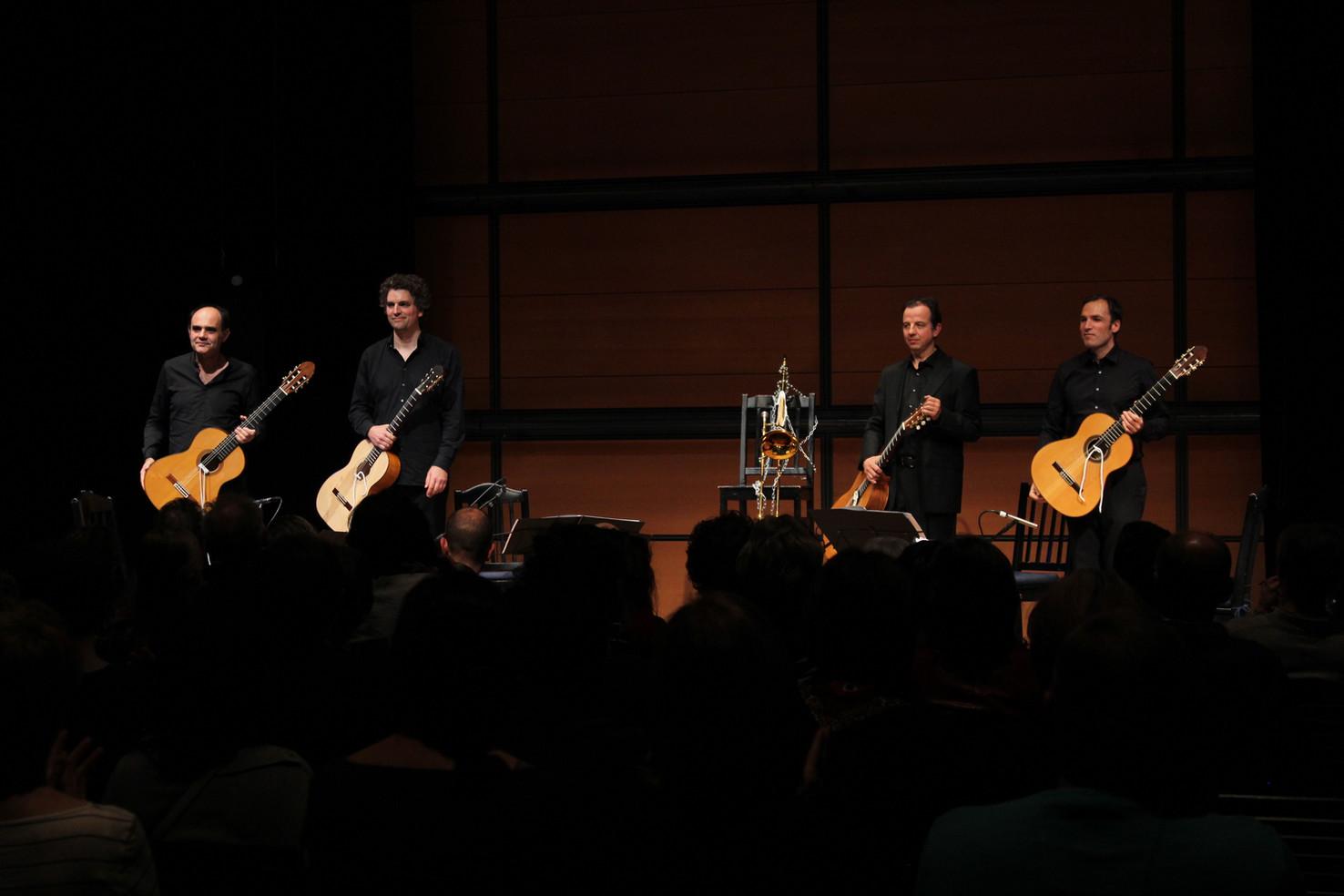Aleph Guitar Quartet anniversary ZKM