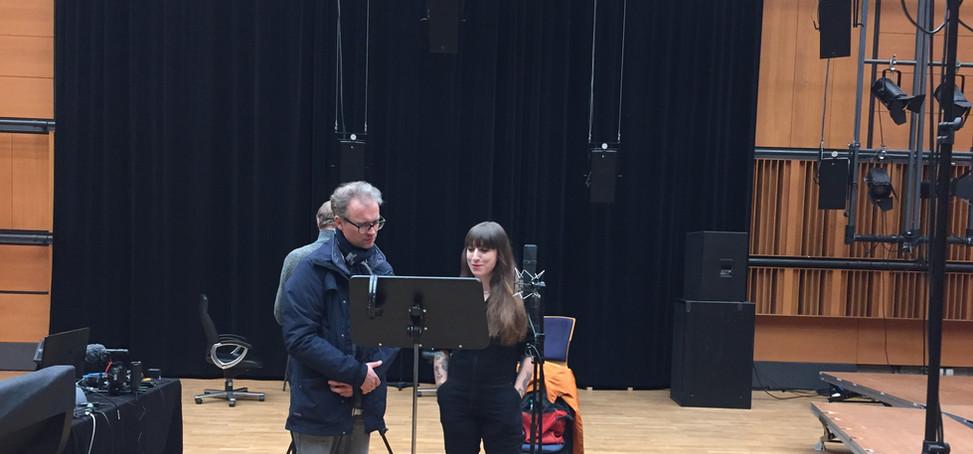 """Recording """"Basho"""" by Martin Smôlka"""