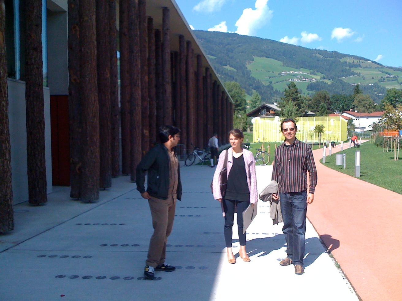 Bozen TRANSART Festival Irene Galindo Quero, Uday Krishnakum Wolfgang Sehringer  2011