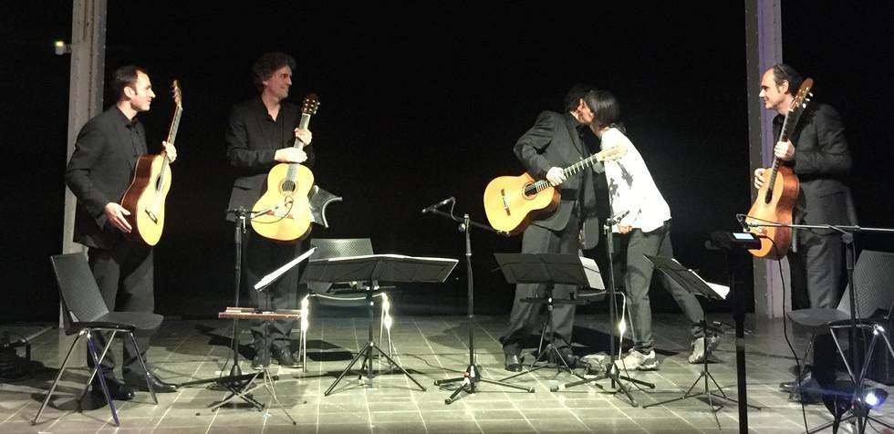 "Núria Giménez Comas ""Tierra, polvo, tumba""premiere Barcelona 2019"