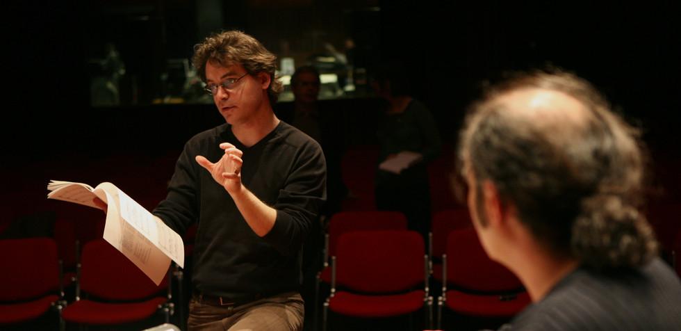 """Xavier Dayer premier """"Ceneri""""  Festival Archipel, Geneva 2008"""