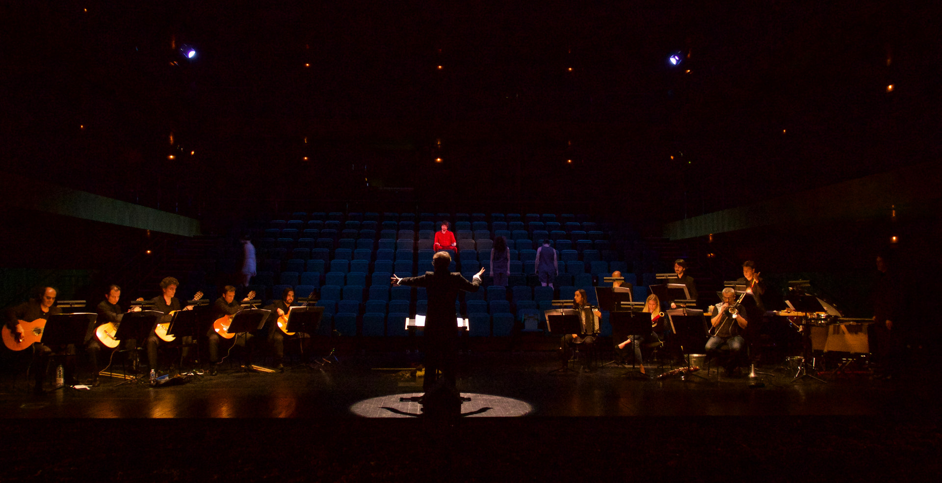"""""""a campo abierto Iren Galindo Quero/Max Aub premier 2015 Teatros del Canal"""
