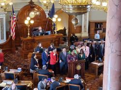 Kansas AKA Day at the Capitol