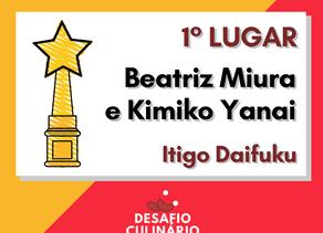 Confira a receita de Beatriz Miura e Kimiko Yanai, 1° lugar no Desafio Culinário