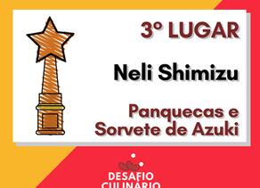 Confira a receita de Neli Shimizu, 3° lugar no Desafio Culinário