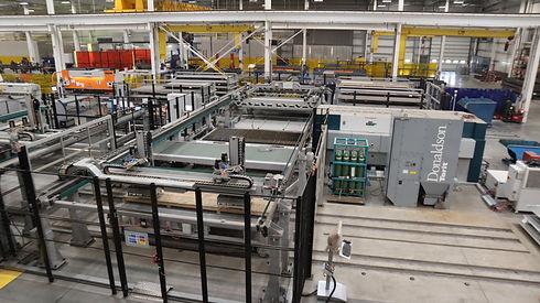 Automated sheet metal machine