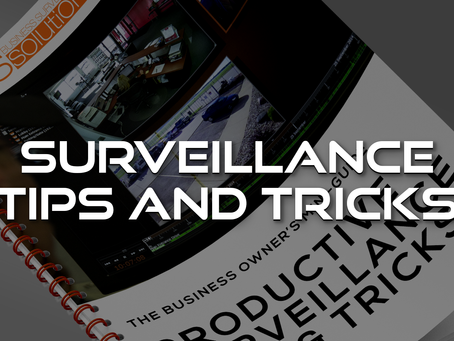 Productive Surveillance Tips and Tricks