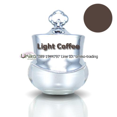 สีกระปุกเงิน สี Light Coffee