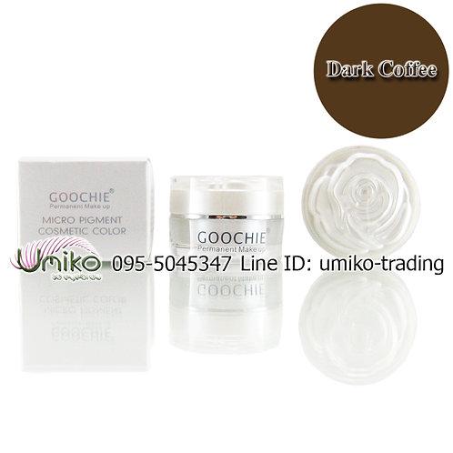 สีเพ้นท์ Goochie Dark Coffee