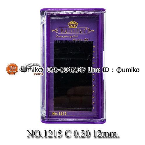 ขนตา 6D No.1215 0.20 C 12mm.