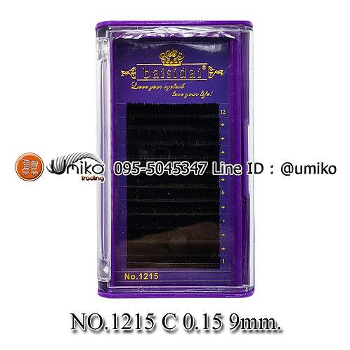 ขนตา 6D No.1215 0.15 C 9mm.