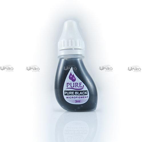 สีสักขอบตา-คิ้ว Pure Black