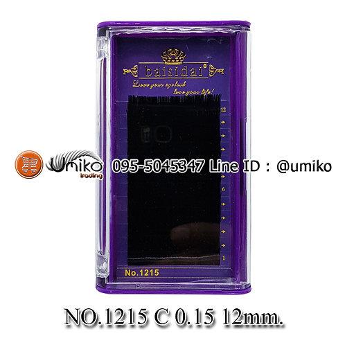 ขนตา 6D No.1215 0.15 C 12mm.