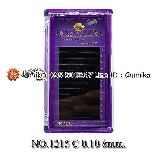 ขนตา 6D No.1215 0.10 C 8mm.