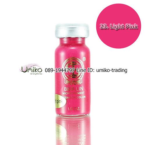สีสักปาก Berlin 23.Light Pink
