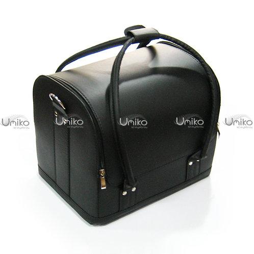 กระเป๋าหนังดำด้าน