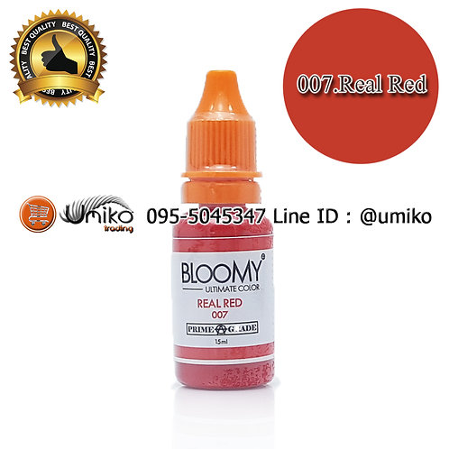 สี Bloomy 007.Real Red