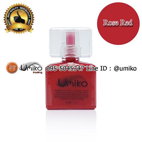 สี Umiko Rose Red