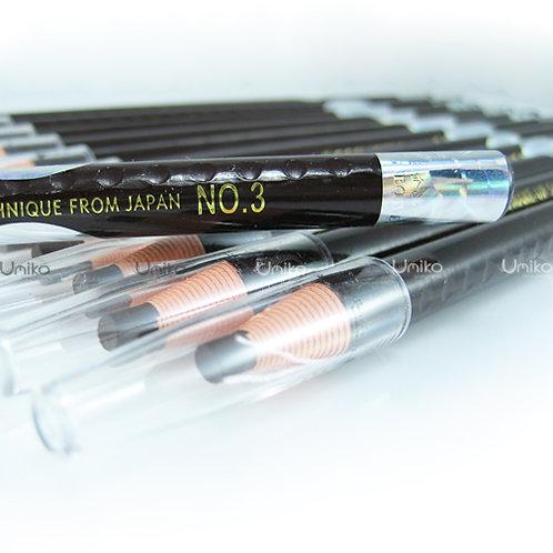 ดินสอสีน้ำตาลเข้ม เบอร์ 3 Brown อย่างดี