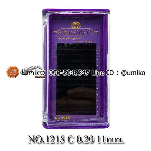 ขนตา 6D No.1215 0.20 C 11mm.