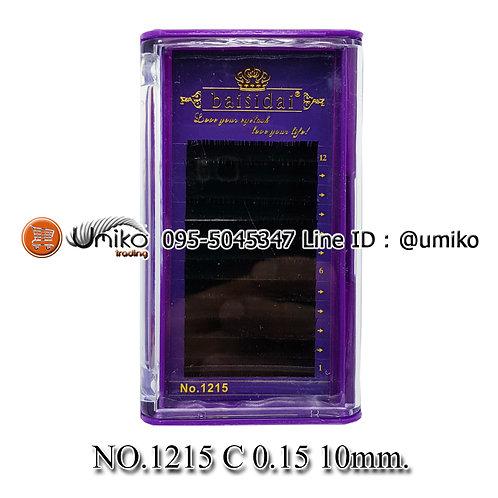 ขนตา 6D No.1215 0.15 C 10mm.