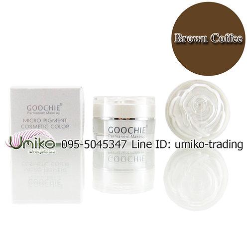 สีเพ้นท์ Goochie Brown Coffee
