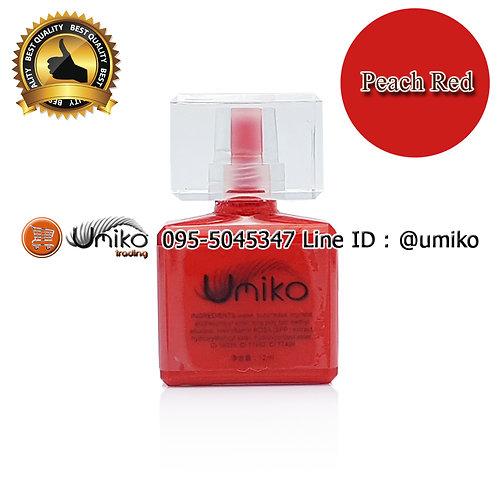 สี Umiko Peach Red