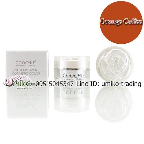 สีเพ้นท์ Goochie Orange Coffee
