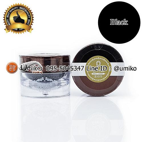 สีเพ้นท์ AnnaS Korea Embo Black