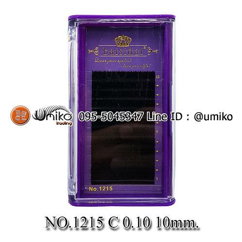 ขนตา 6D No.1215 0.10 C 10mm.