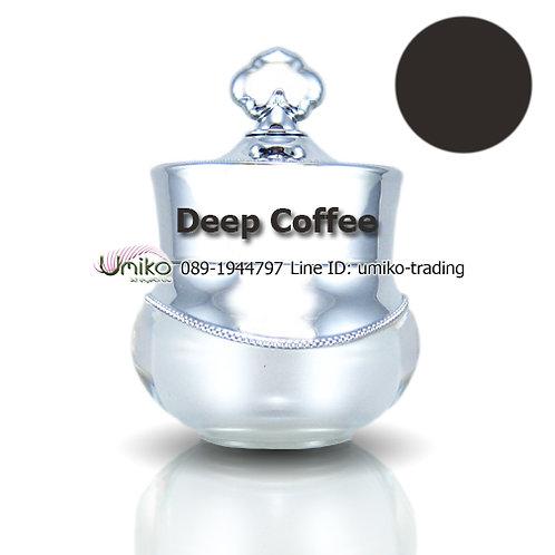 สีกระปุกเงิน สี Deep Coffee