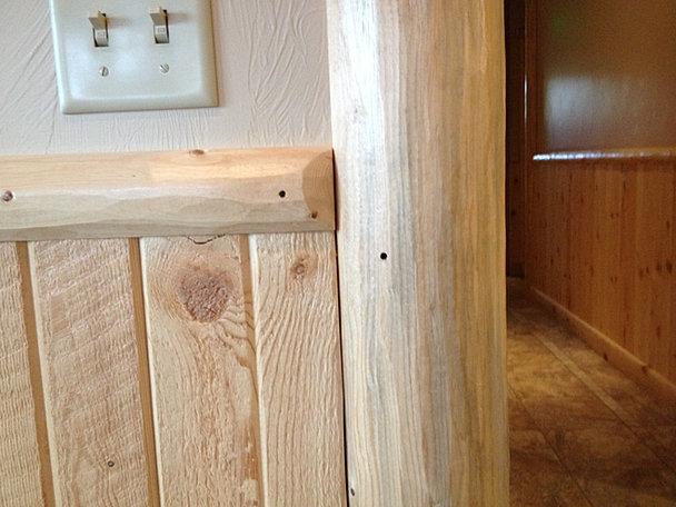 Interior Log Trim