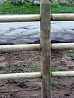 Doweled rail fence