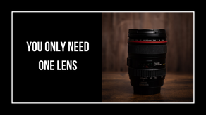 You Only Need One Lens