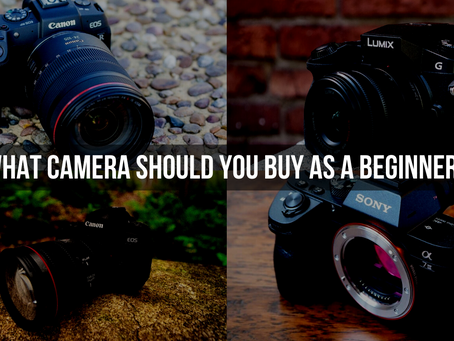 What camera should you buy as a beginner?