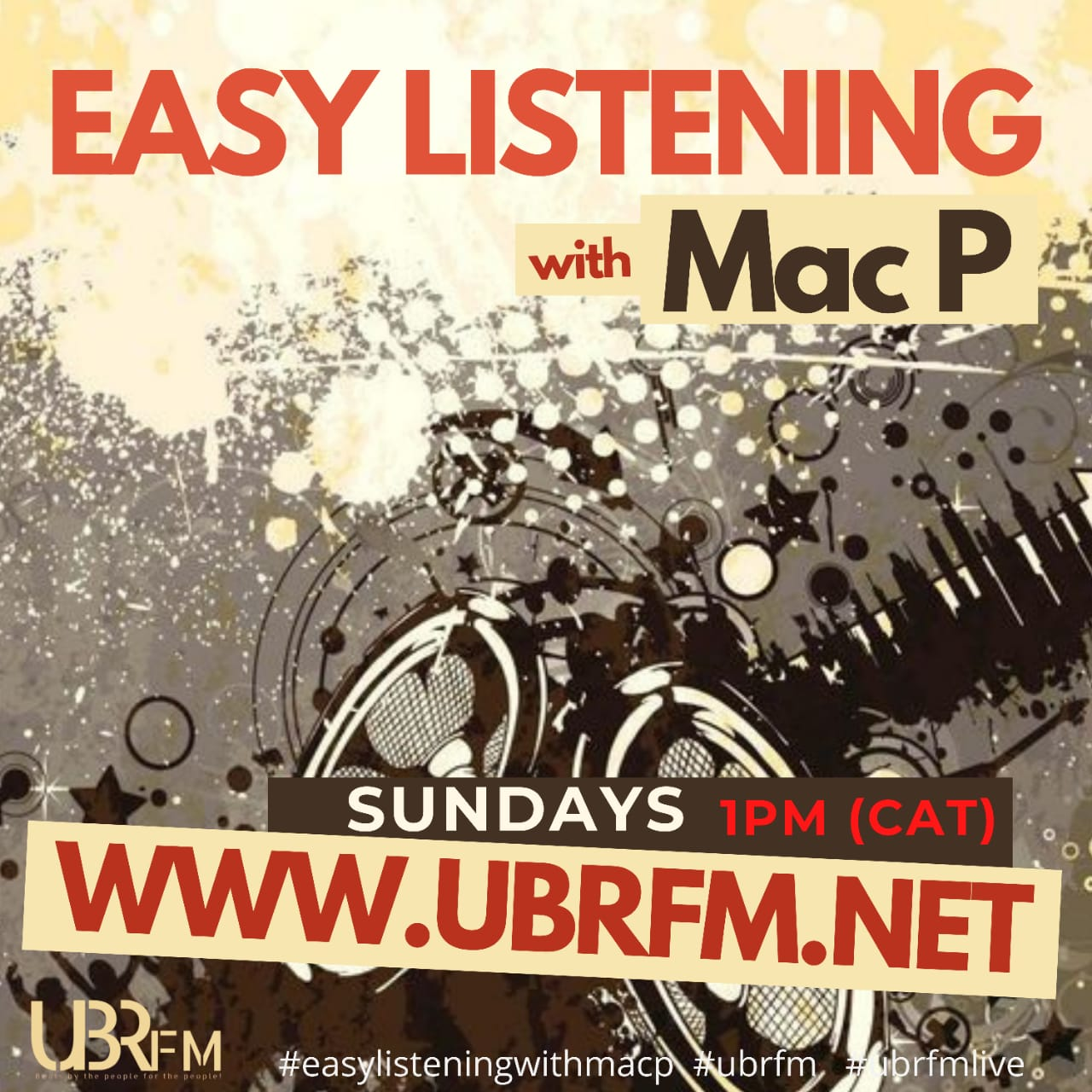 Mac P Easy Listening New Poster