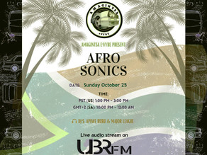 Amagintsa eVybe Present Afro Sonics Stream Live From LA Hollywood