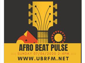 AFRO BEAT PULSE - Sun 07/06/20 > 2PM