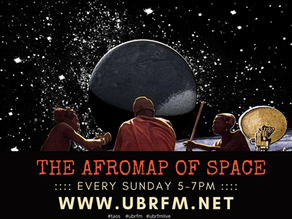 THE AFROMAP OF SPACE with Boeta Gee - Sunday 5PM