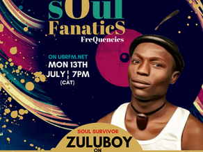 DJ BlaQt presents Soul Fanatics FreQuencies with guest ZULUBOY