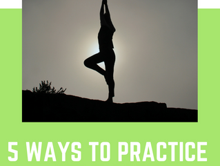 5 Ways to Practice Self-Care