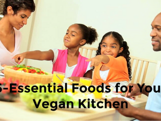 5-Essential Foods for Your Vegan Kitchen