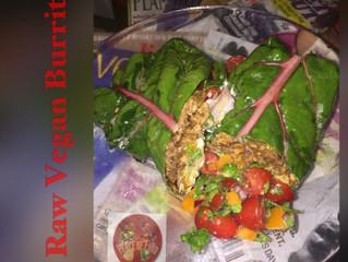 Raw Vegan Burrito